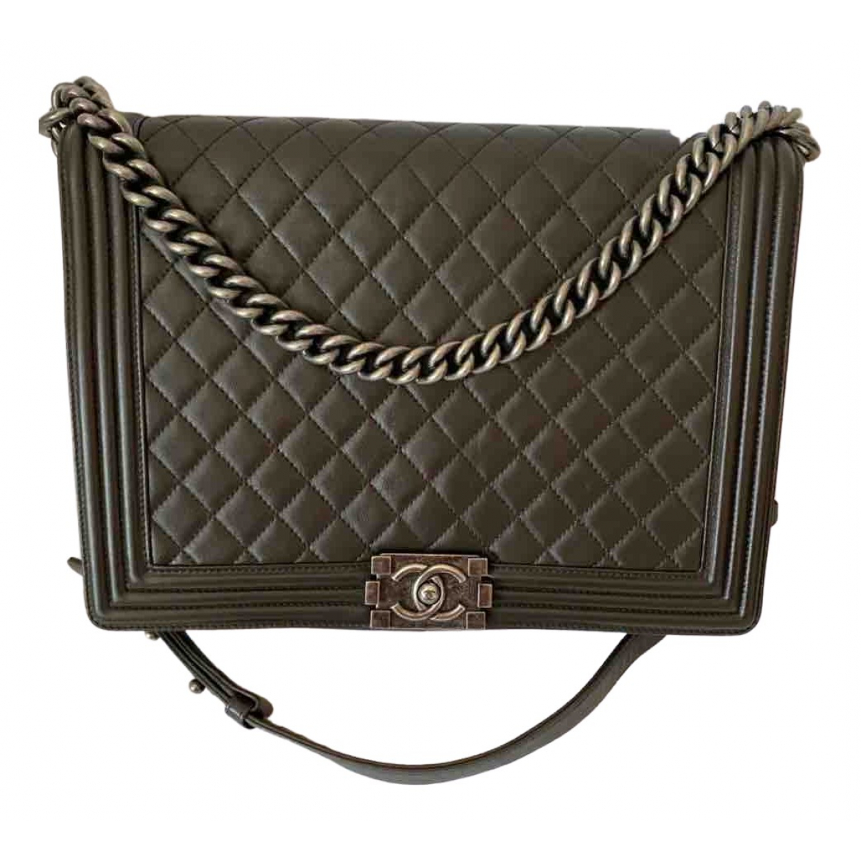 Chanel Boy Brown Leather handbag for Women \N
