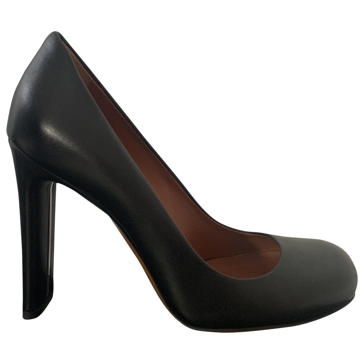 Mulberry \N Black Leather Heels for Women 37 EU