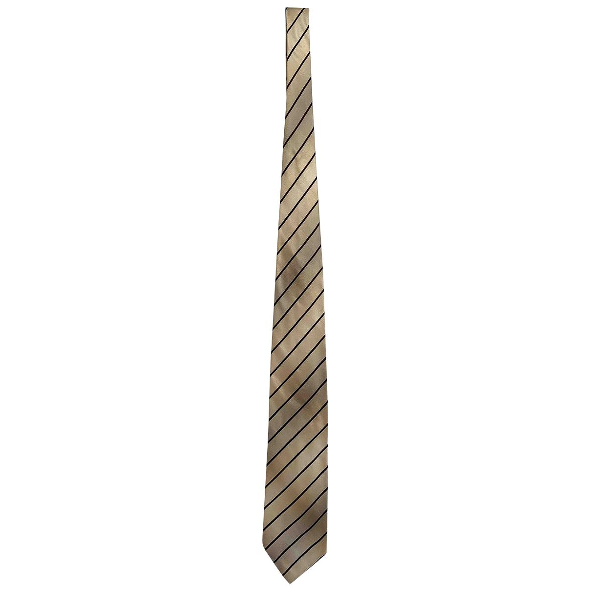 Dolce & Gabbana \N Krawatten in  Beige Seide