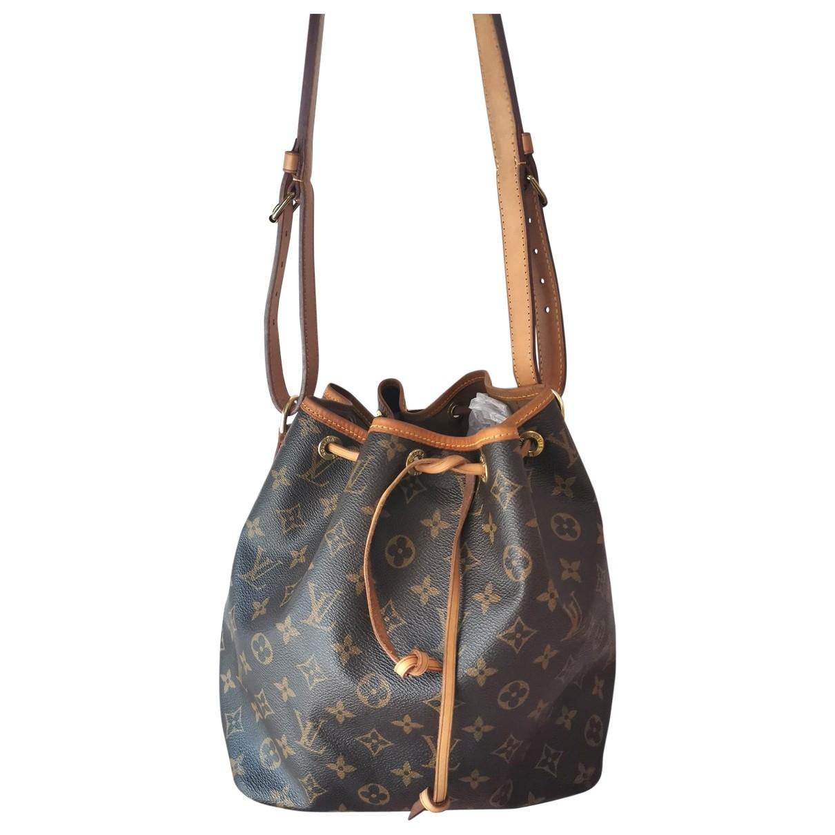 Bolso  Noe de Lona Louis Vuitton
