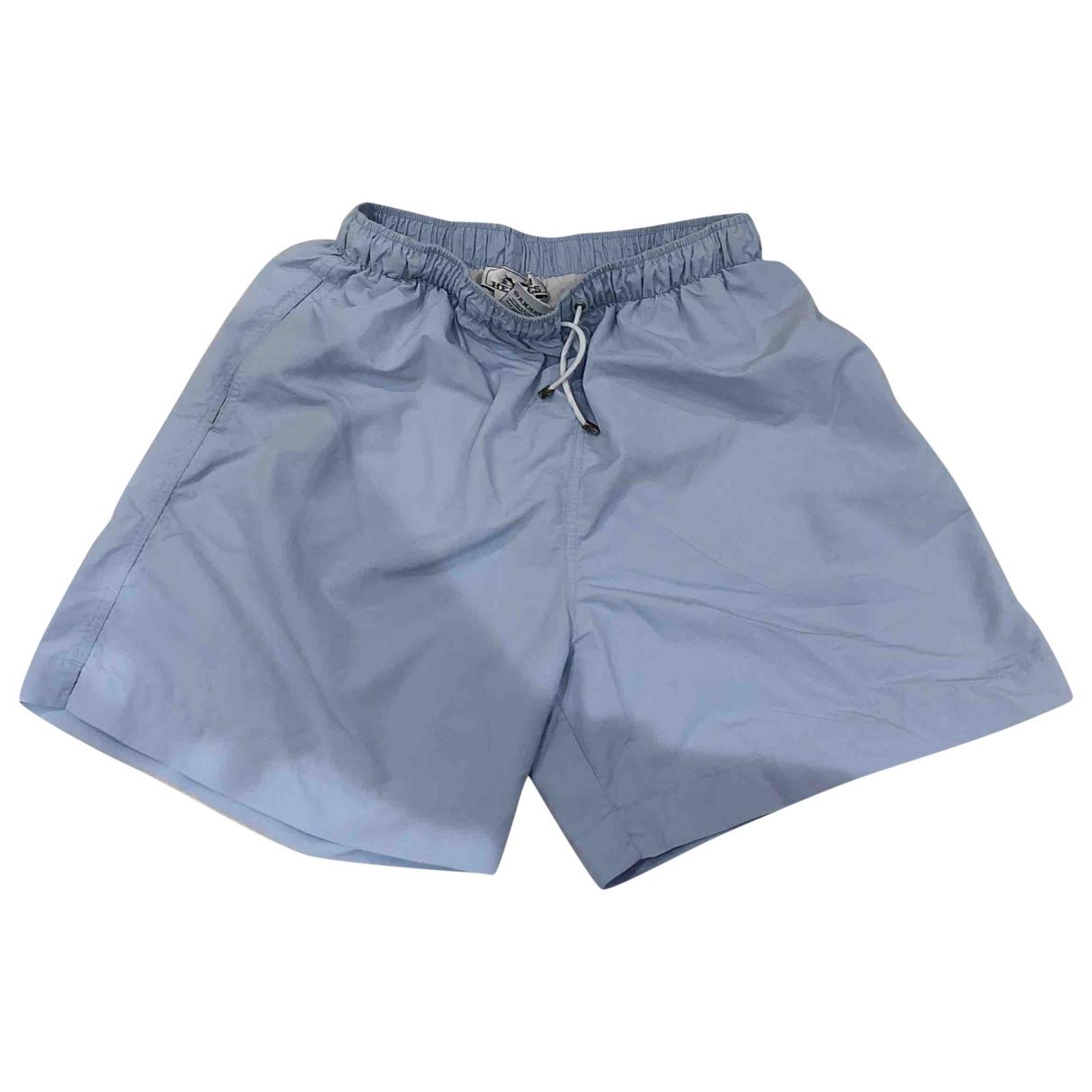 Hermès \N Blue Cotton - elasthane Swimwear for Men M International