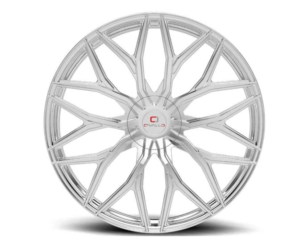 Cavallo CLV-37 Wheel 24x9 5x115|5x120 34mm Chrome