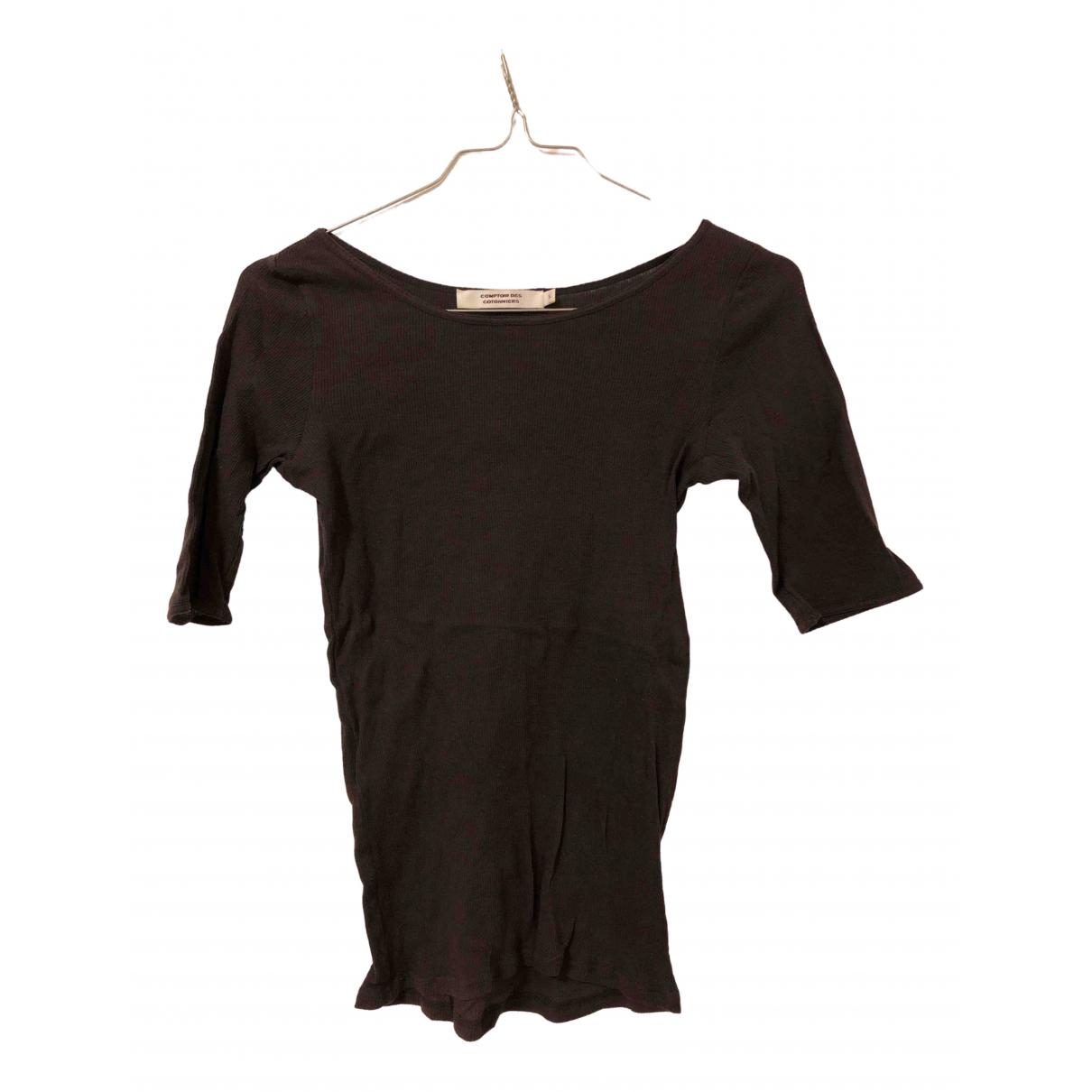 Comptoir Des Cotonniers - Top   pour femme en coton - gris