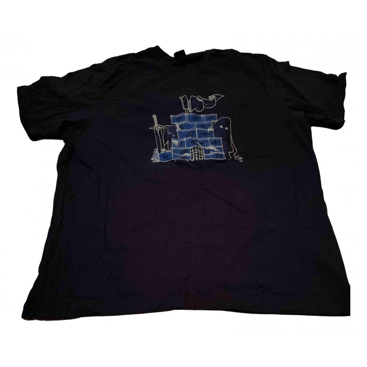 Adidas N Navy Cotton T-shirts for Men XXL International