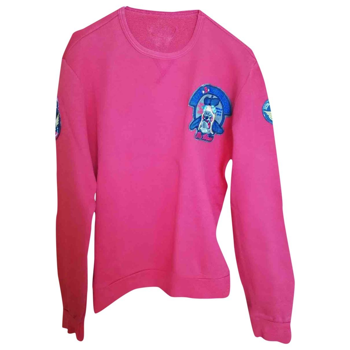 Iceberg \N Pullover.Westen.Sweatshirts  in  Rot Baumwolle