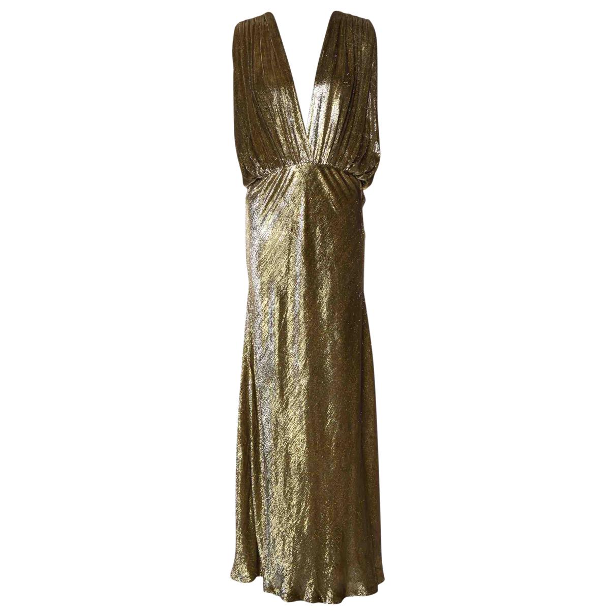 Mes Demoiselles ... - Robe   pour femme en velours - dore