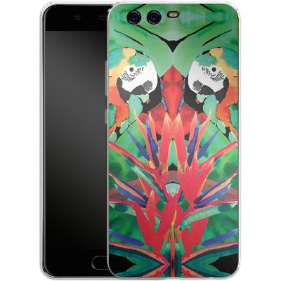 Huawei P10 Silikon Handyhuelle - Parrot von Amy Sia