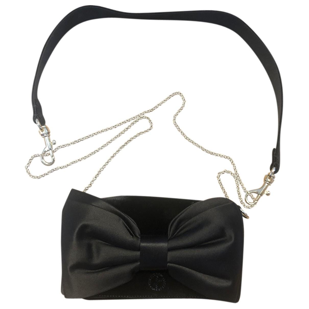 Giorgio Armani \N Handtasche in  Schwarz Samt