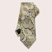 Men Paisley Pattern Tie