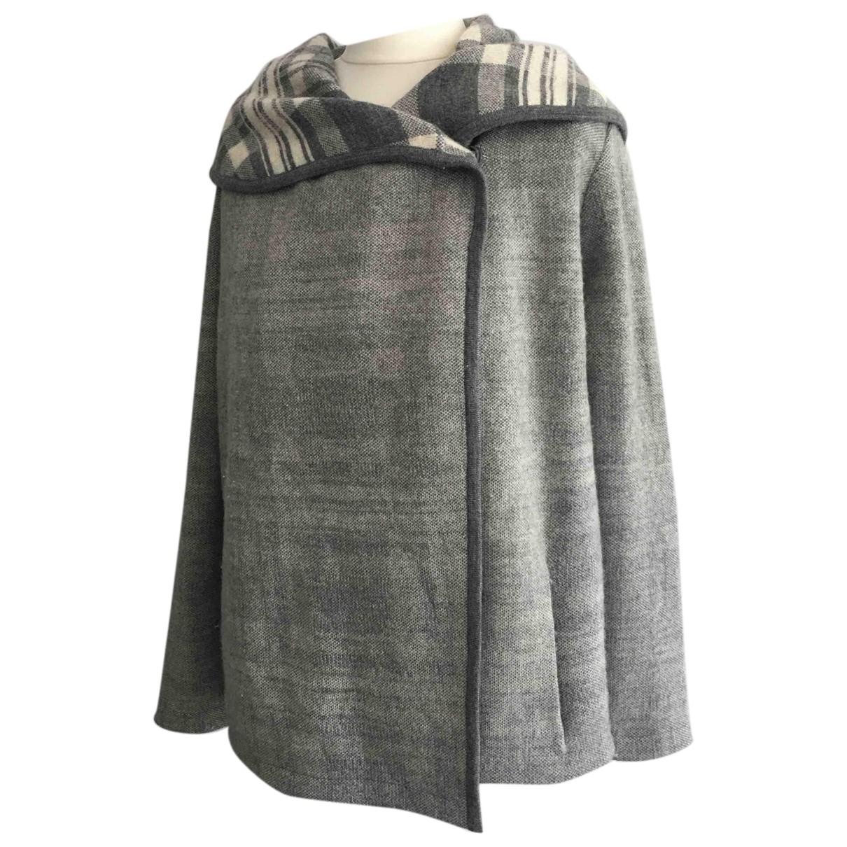 Comptoir Des Cotonniers N Grey Wool Knitwear for Women M International