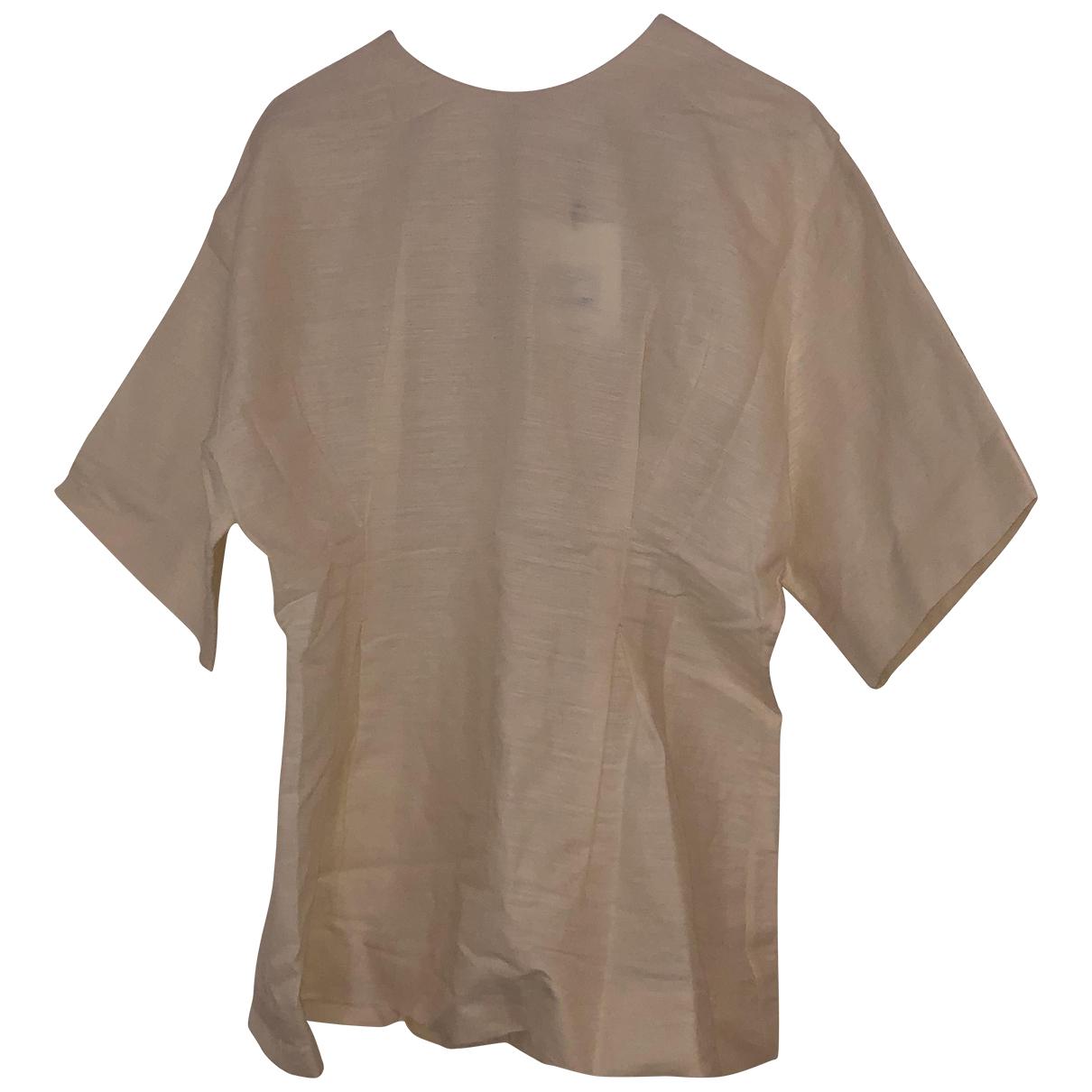 Toteme - Top   pour femme en lin - beige
