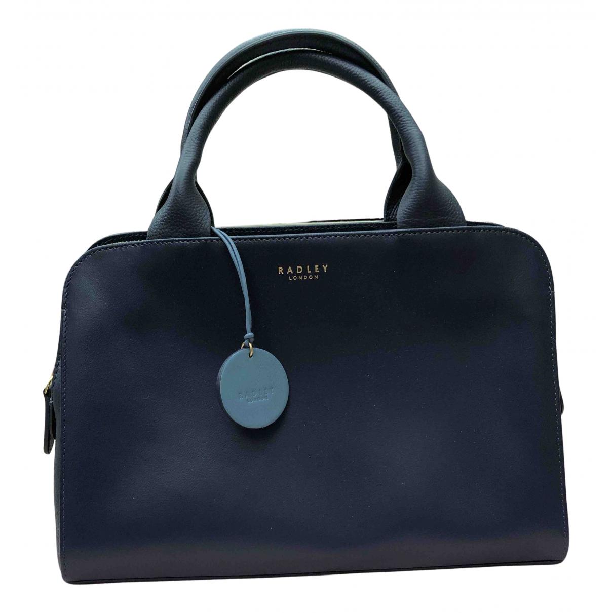 Radley London \N Handtasche in  Blau Leder