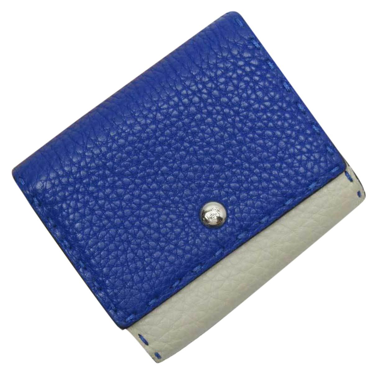 Fendi - Portefeuille   pour femme en cuir - multicolore