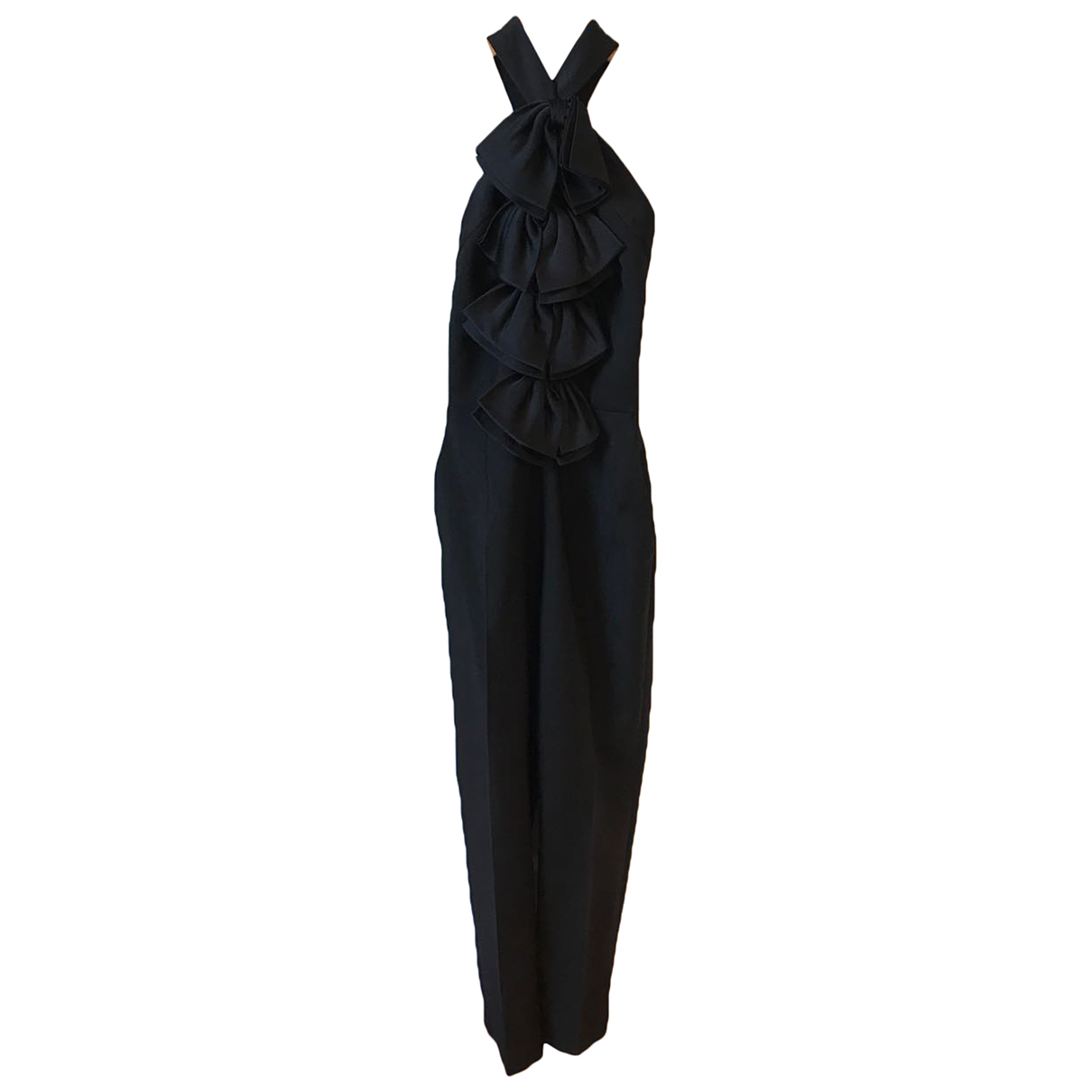 Givenchy \N Black Wool jumpsuit for Women 36 FR