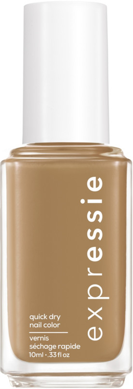 Expressie Quick-Dry Nail Polish - Dont Be Latte (mid tone brown)