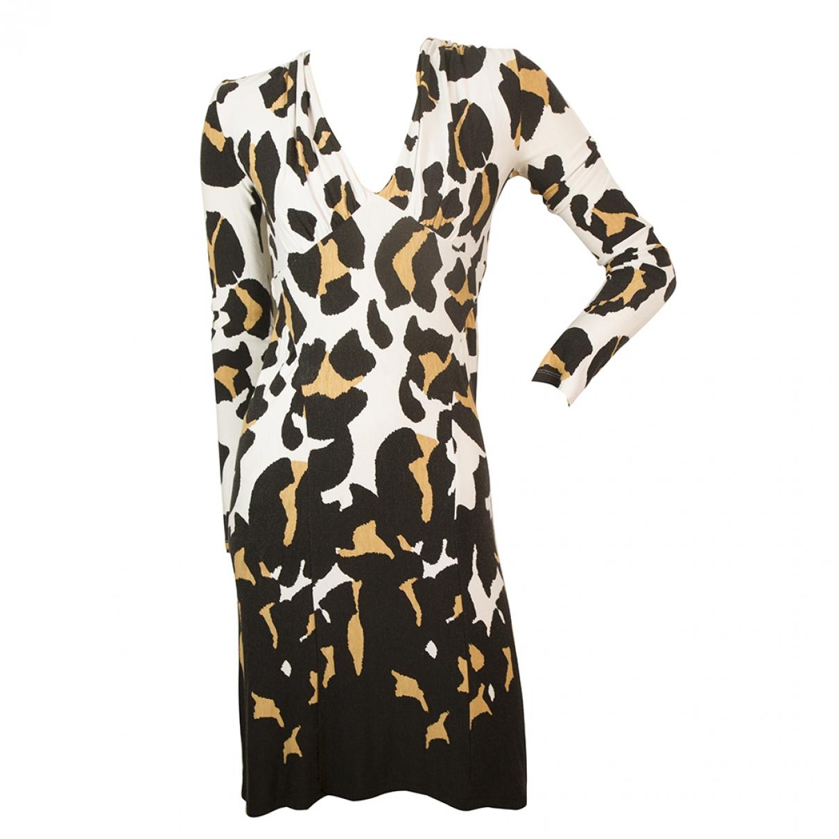 Roberto Cavalli \N Kleid in  Bunt Synthetik