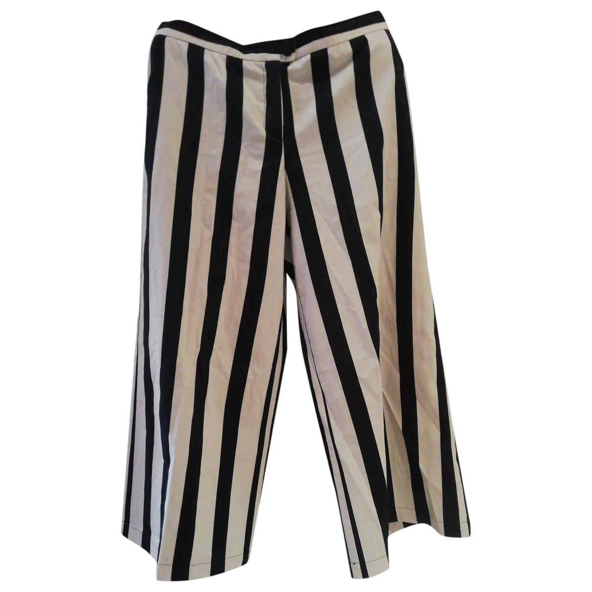 Pinko \N Black Cotton Trousers for Women 42 IT