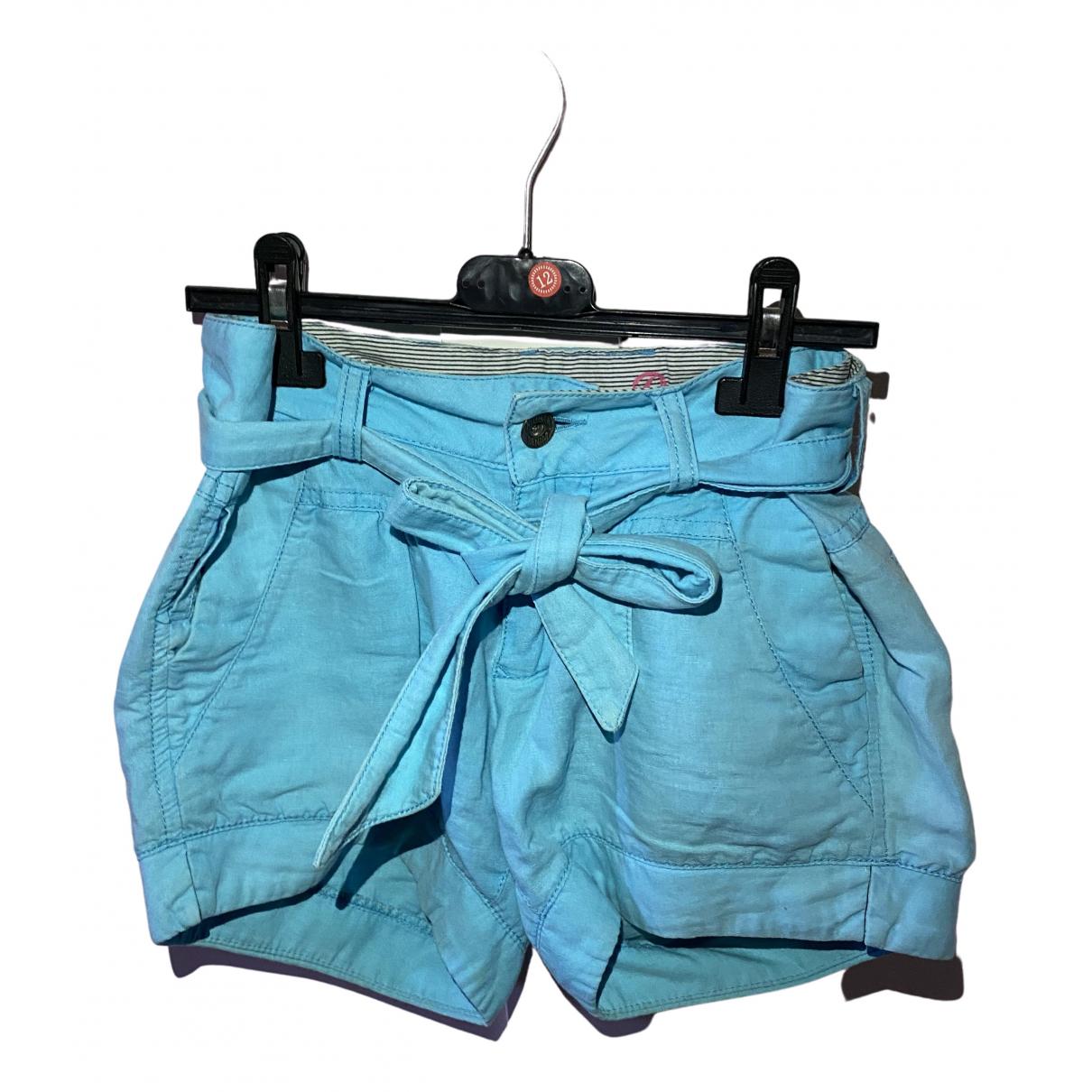 Tommy Hilfiger \N Shorts in  Tuerkis Baumwolle