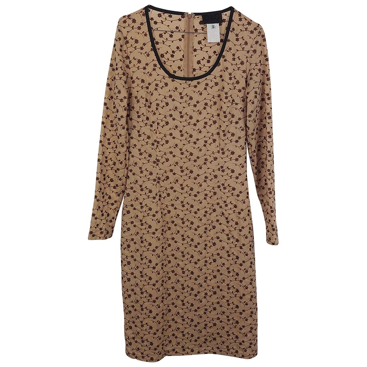 D&g - Robe   pour femme - beige