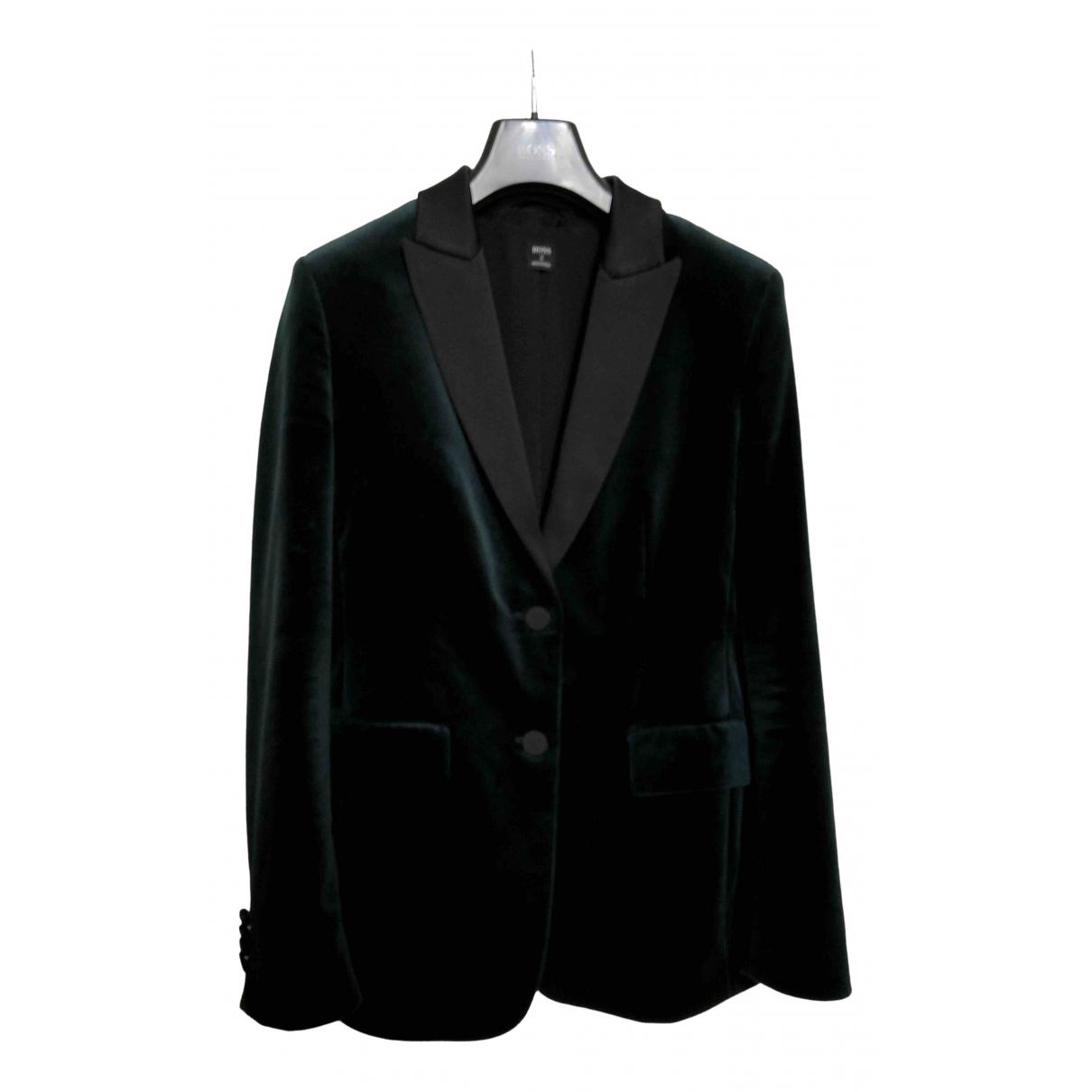 Hugo Boss \N Green Velvet jacket for Women 38 FR