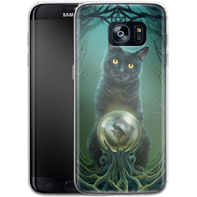 Samsung Galaxy S7 Edge Silikon Handyhuelle - Rise of the Witches von Lisa Parker