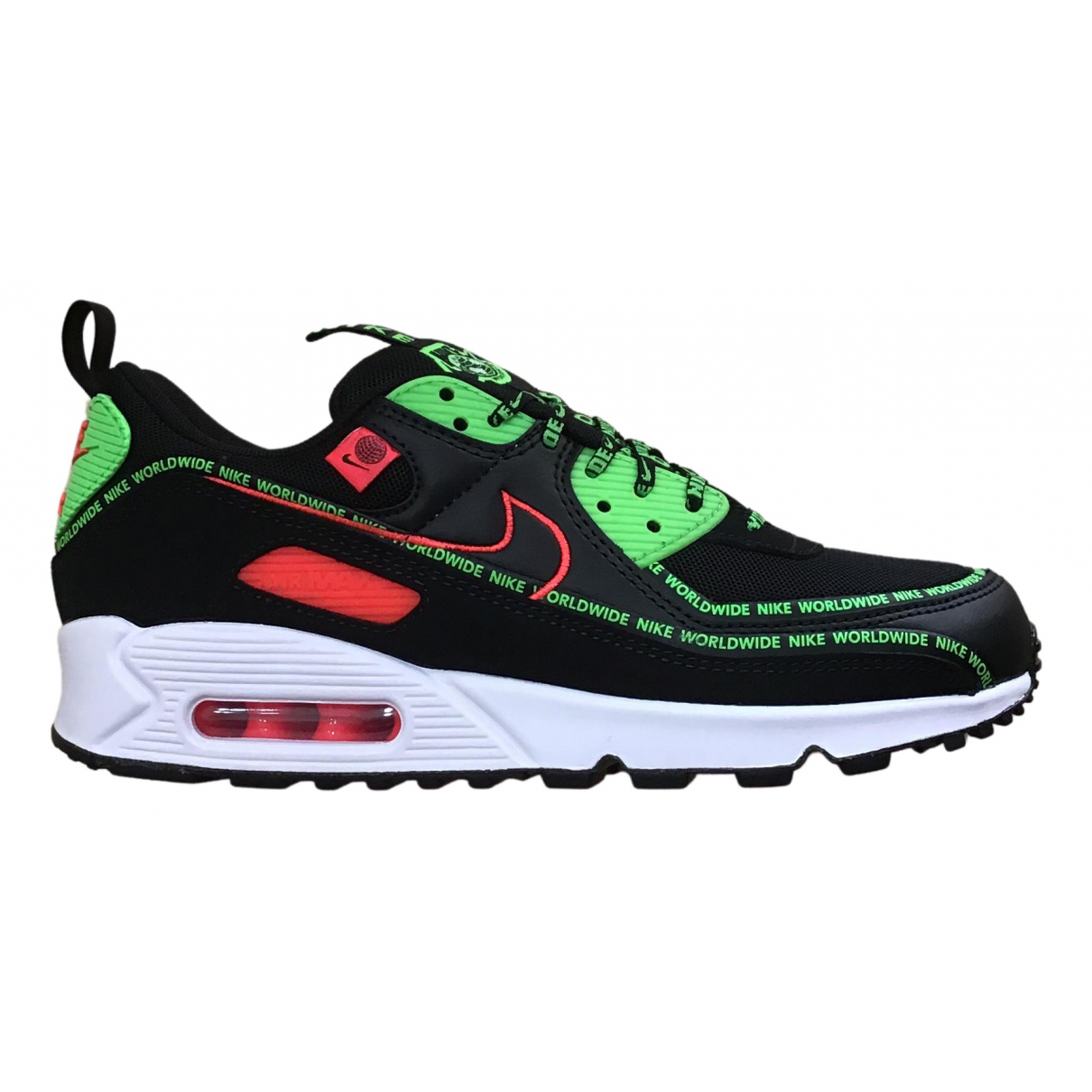 Nike Air Max 90 Sneakers in  Schwarz Kautschuk