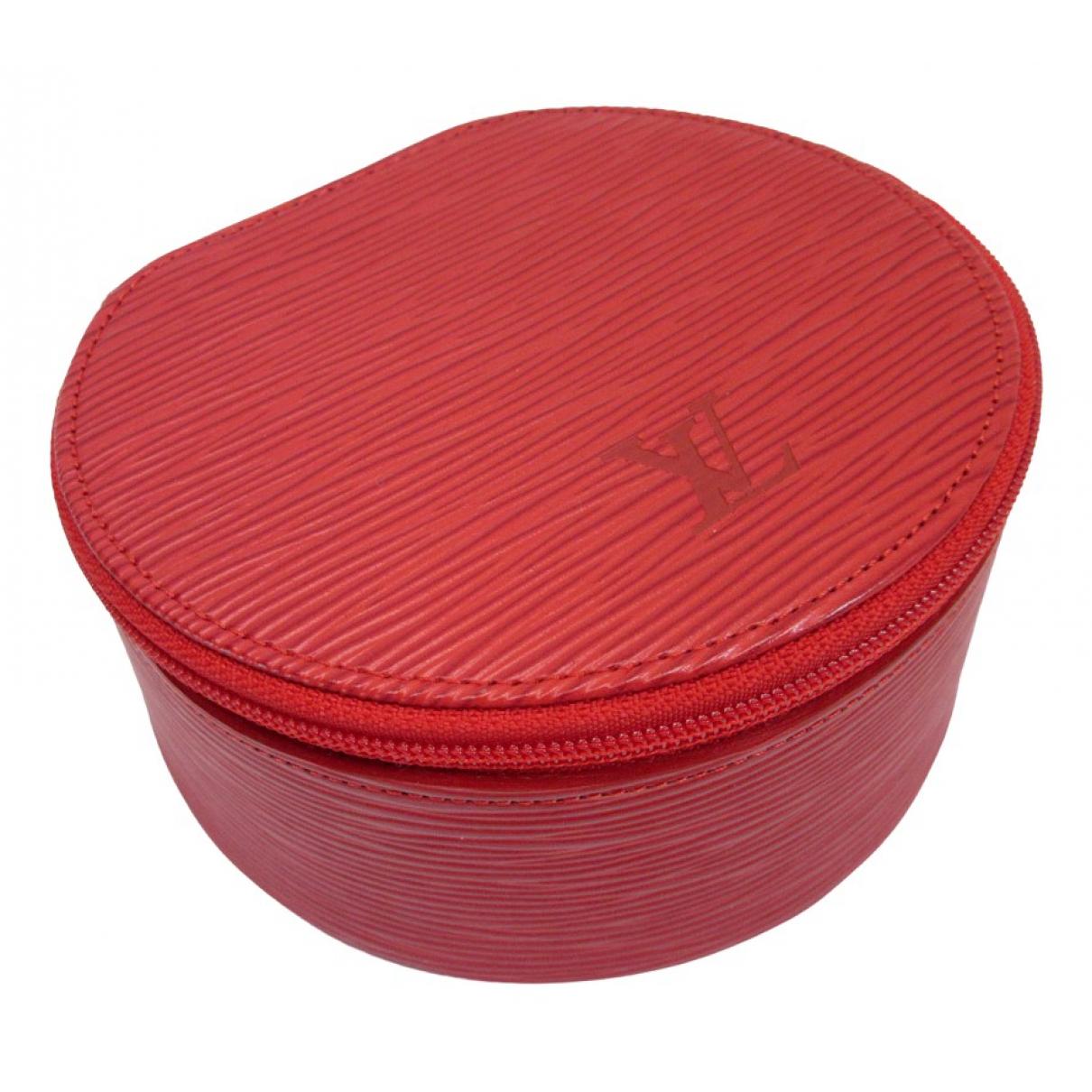 Louis Vuitton - Petite maroquinerie   pour femme en cuir - rouge