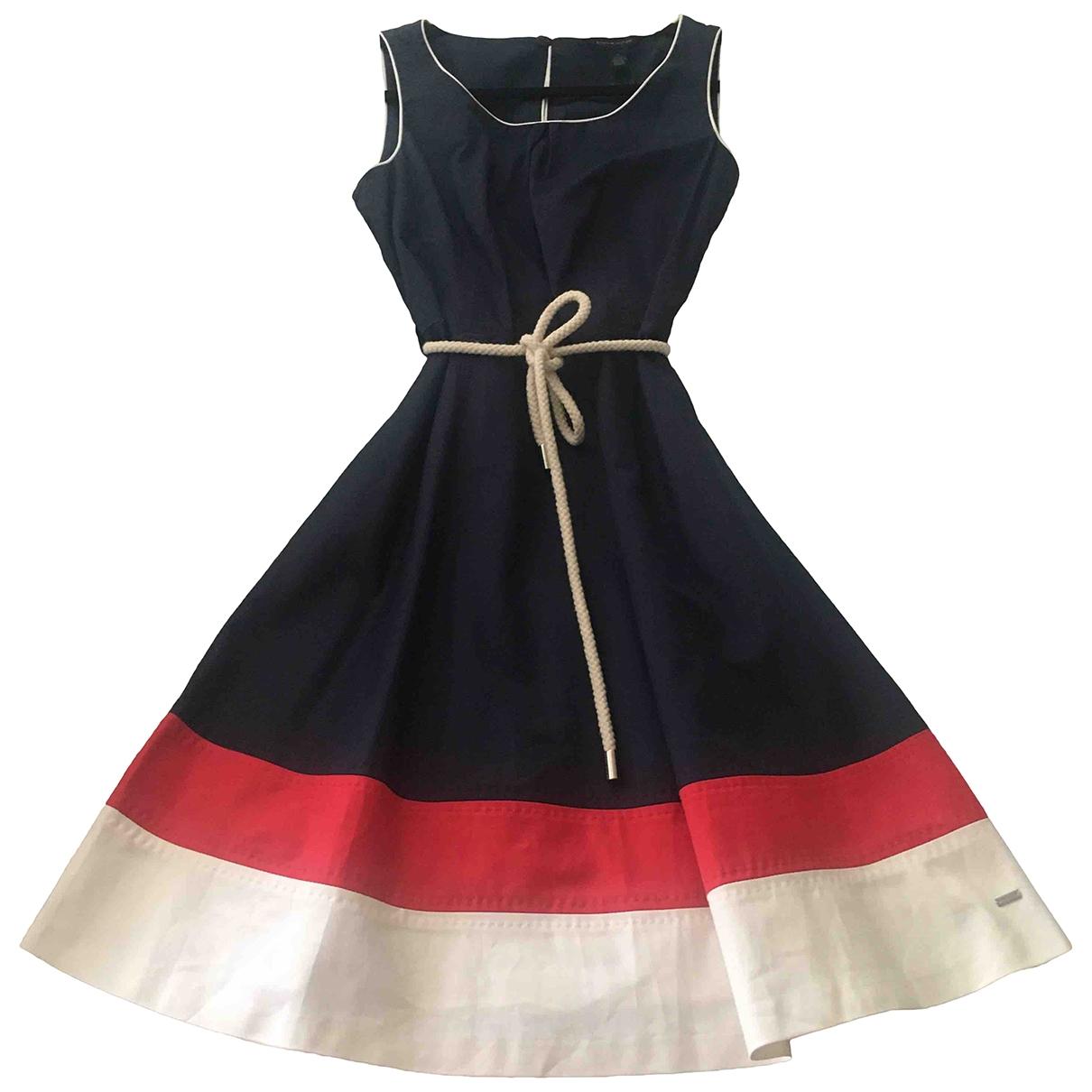 Tommy Hilfiger \N Kleid in  Blau Baumwolle