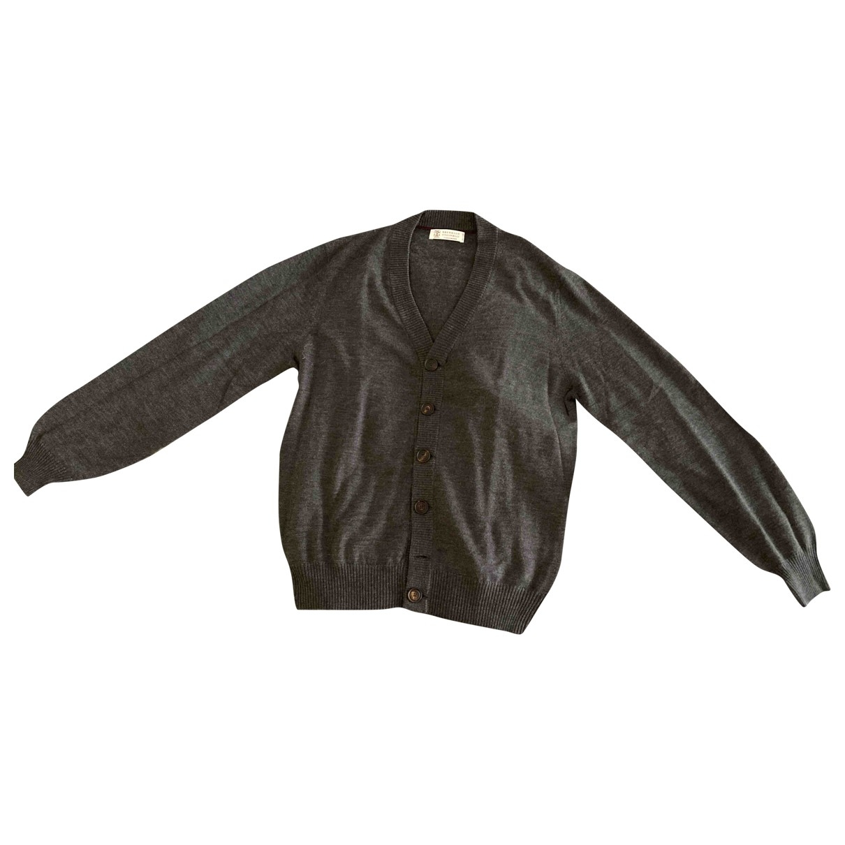 Brunello Cucinelli - Pulls.Gilets.Sweats   pour homme en cachemire - anthracite