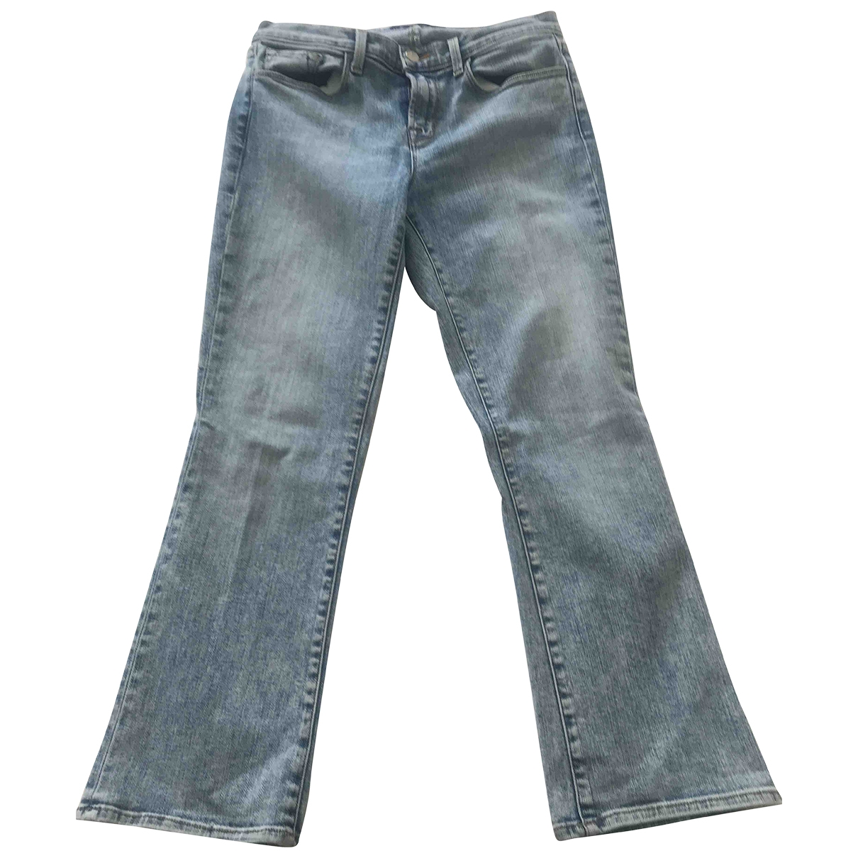 J Brand \N Blue Cotton Jeans for Women 28 US