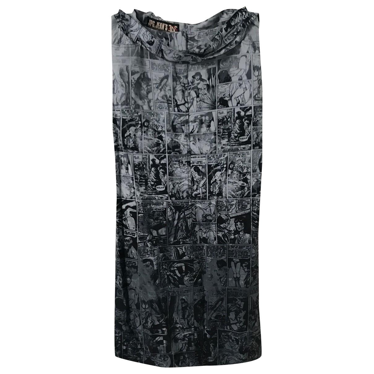 Jean Paul Gaultier \N Rocke in  Grau Baumwolle