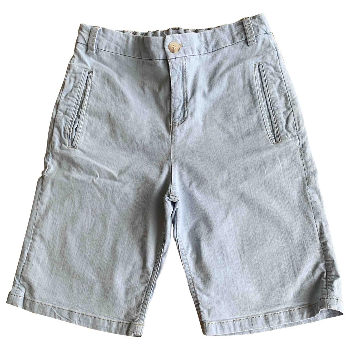 Bonpoint - Short   pour enfant en coton - bleu