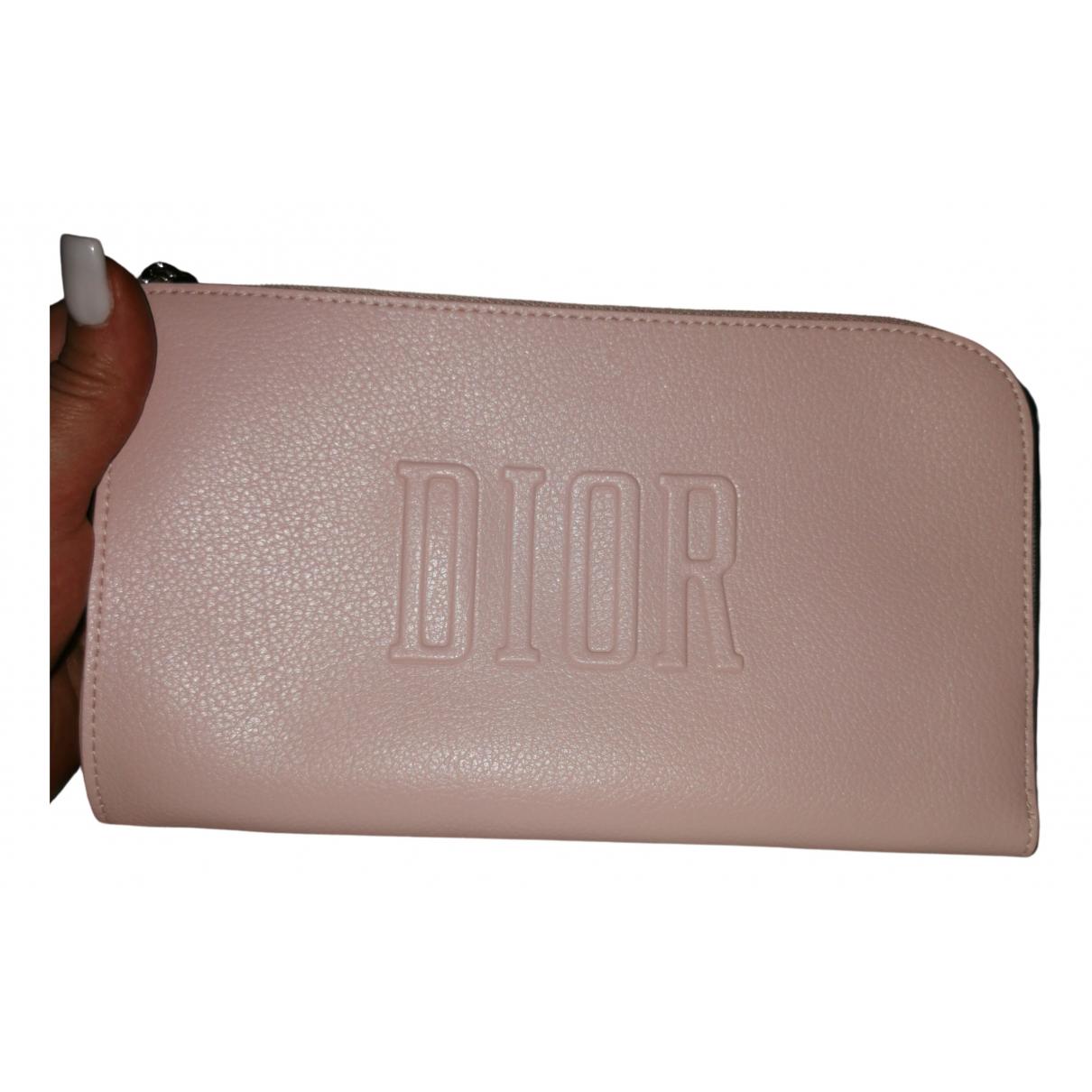 Dior - Pochette   pour femme en toile - rose
