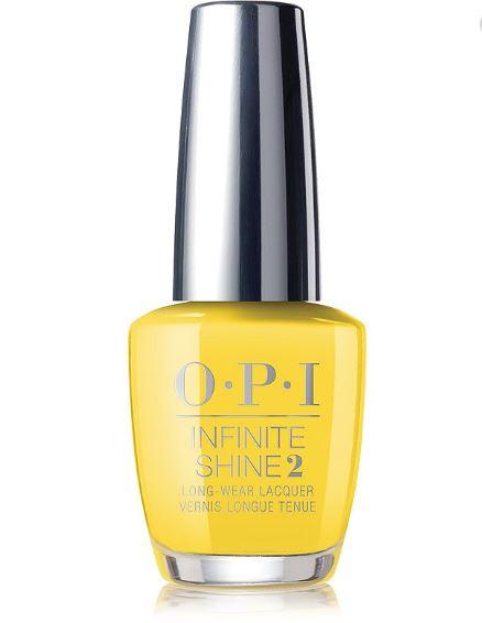 Infinite Shine Long-Wear Nail Polish, Oranges/Yellows/Greens - Exotic Birds Do Not Tweet (radiant yellow)