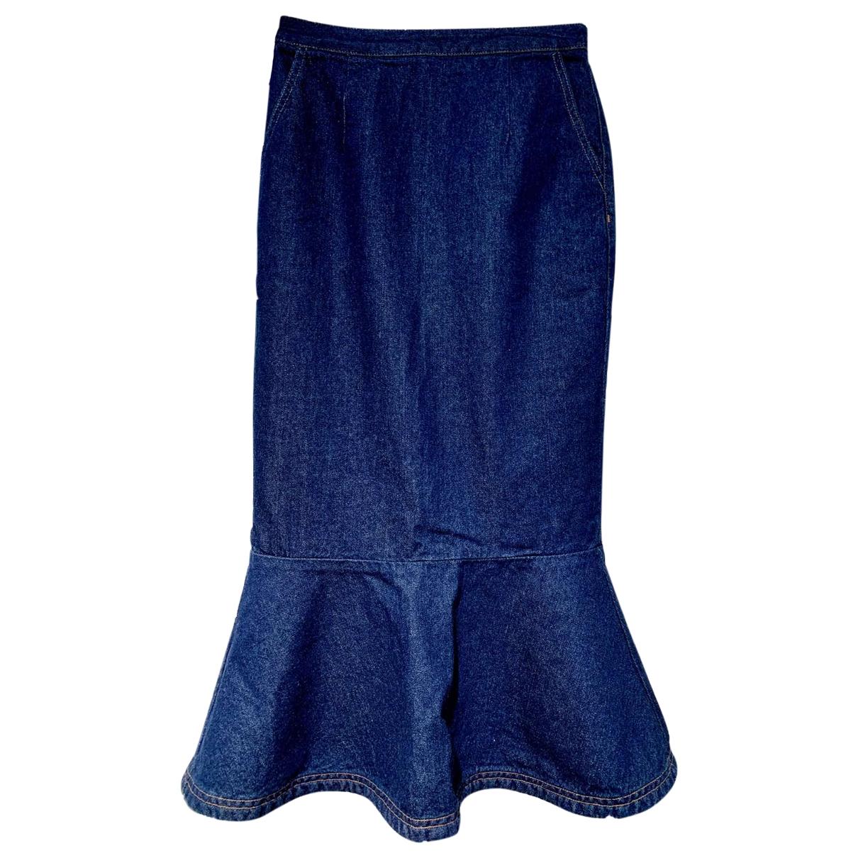 Sjyp \N Rocke in  Blau Denim - Jeans