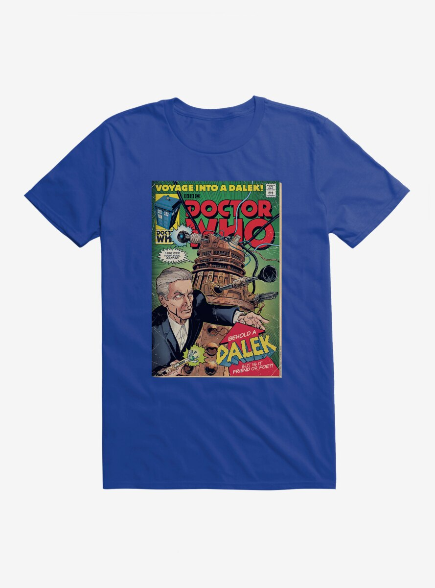Doctor Who Voyage Into A Dalek T-Shirt