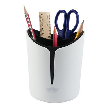 Porte-stylo combiné multifonctionnel pour organisation de bureau - Moustache®