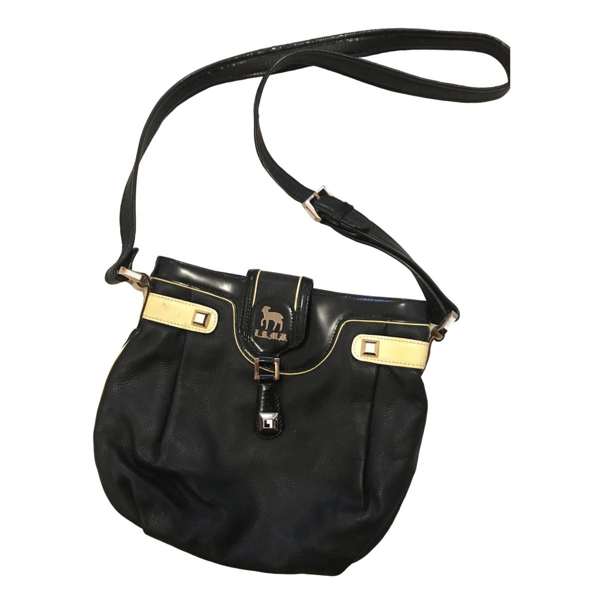 L.a.m.b \N Handtasche in  Schwarz Leder