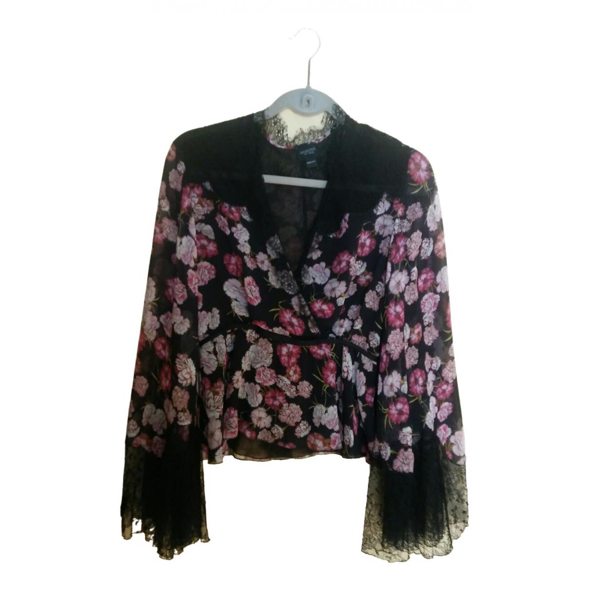 Giambattista Valli - Top   pour femme en soie - multicolore