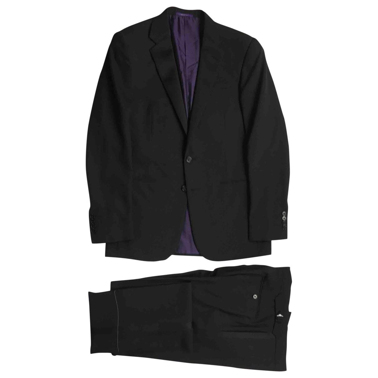 Ralph Lauren Purple Label \N Black Wool Suits for Men 38 UK - US