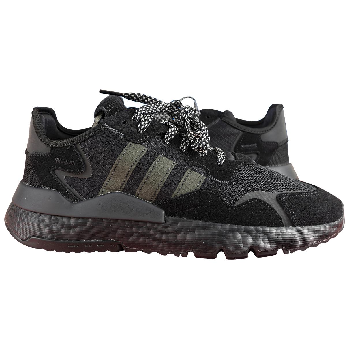 Adidas - Baskets   pour homme en toile - noir