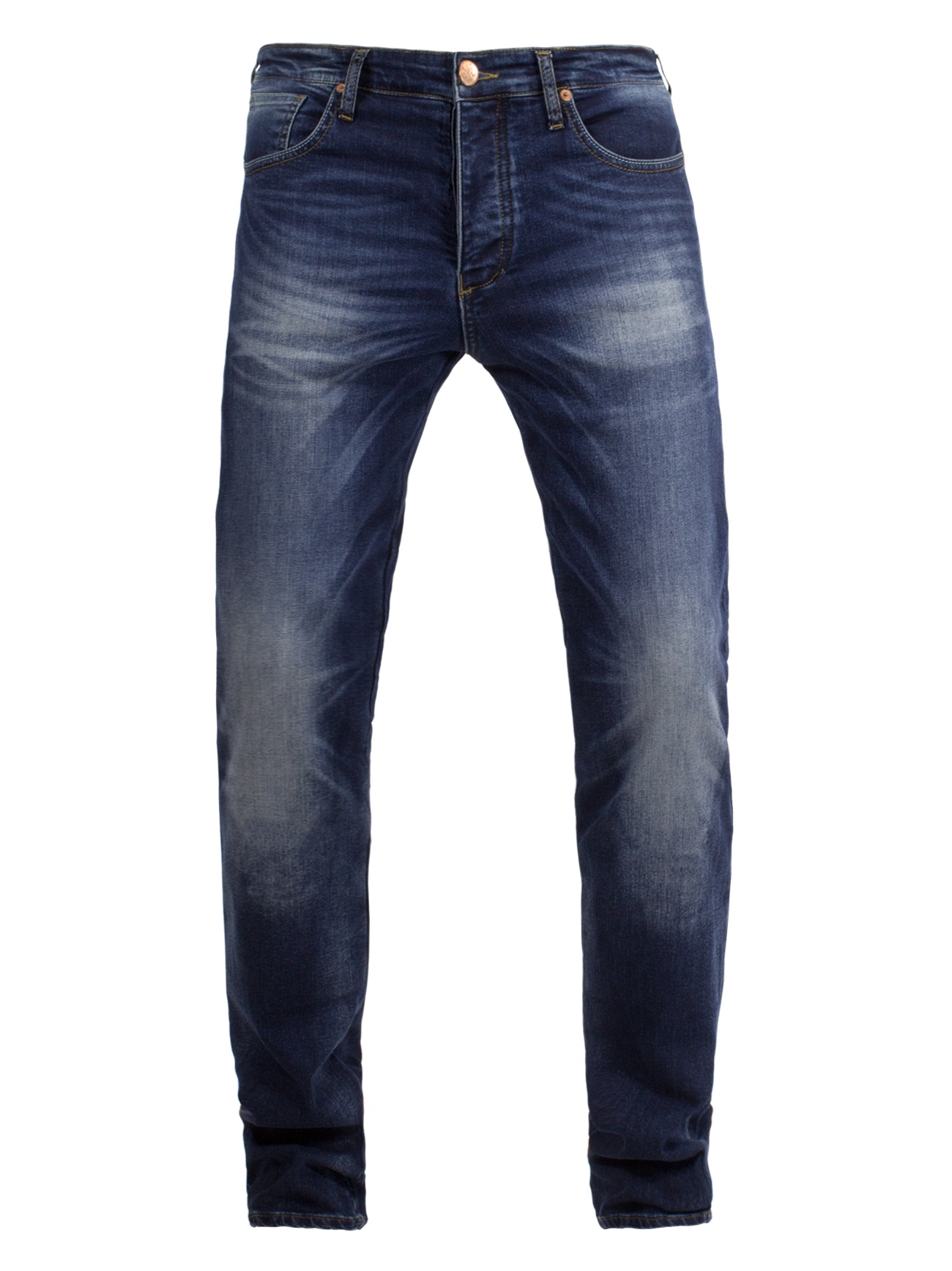 John Doe Ironhead XTM Jeans Motorista Used Dark Azul  40/34