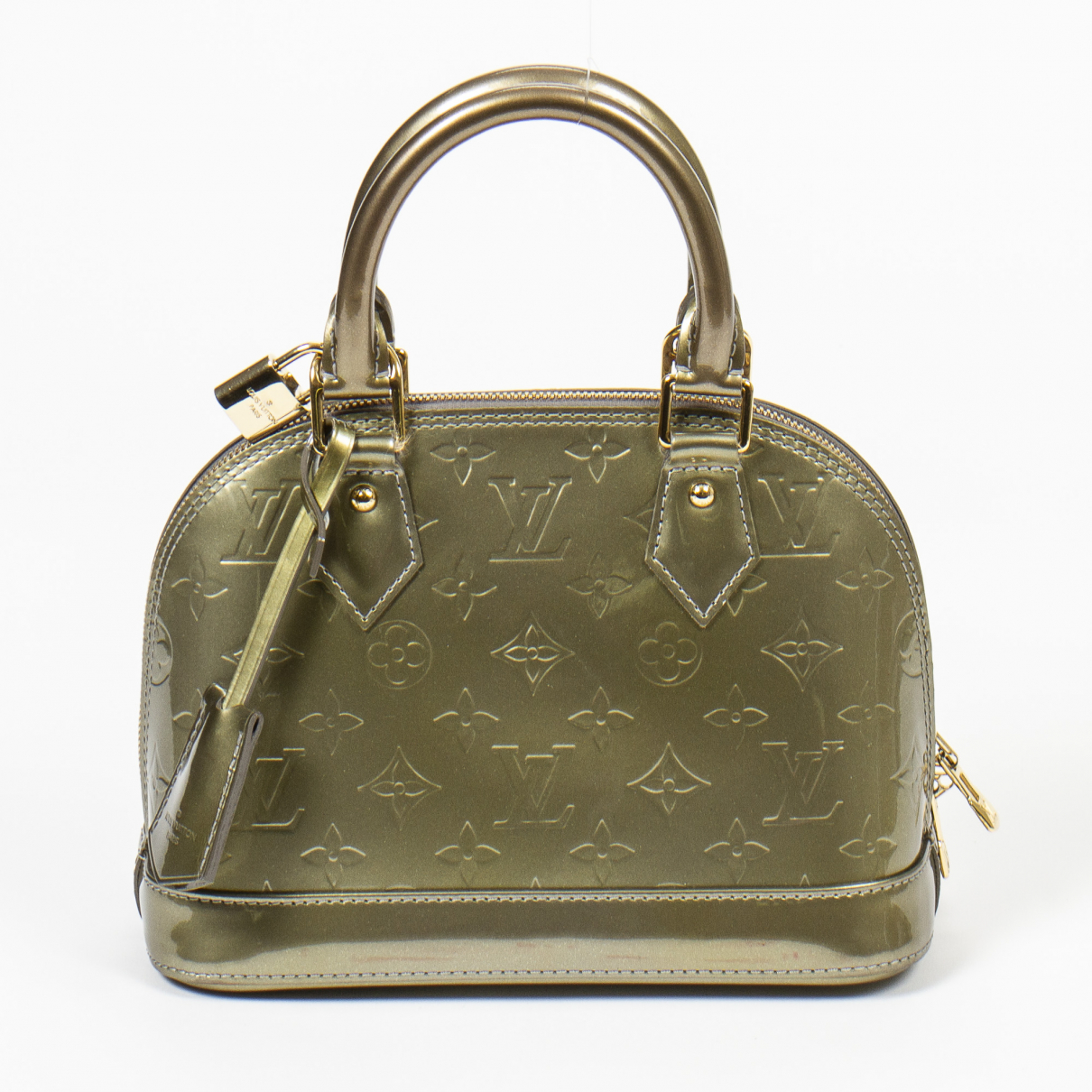 Louis Vuitton Alma BB Handtasche in Lackleder