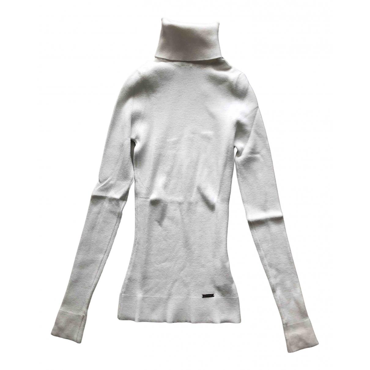 Dsquared2 - Pull   pour femme en laine - blanc