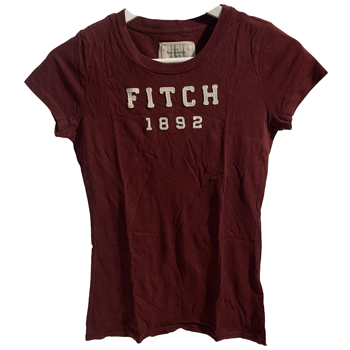 Abercrombie & Fitch \N Burgundy Cotton  top for Women S International