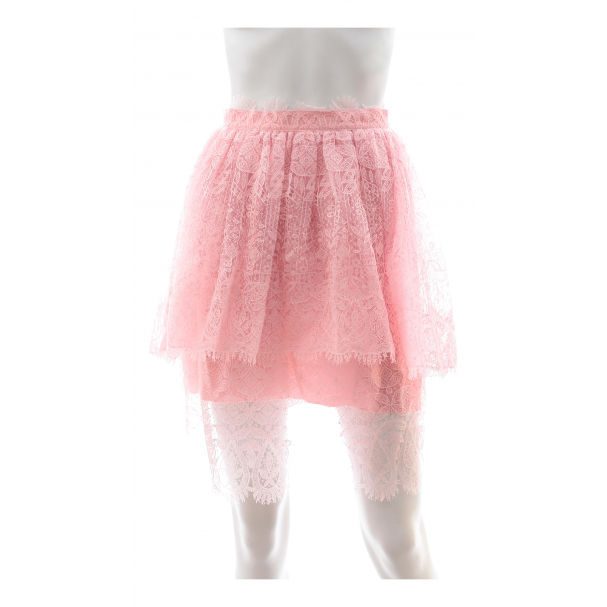 Ermanno Scervino N Pink skirt for Women 38 IT