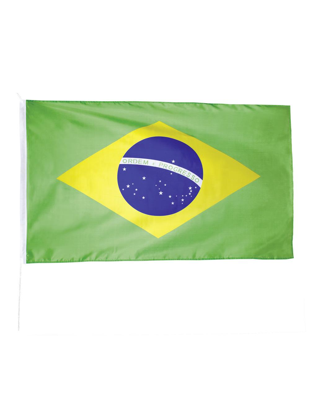Flagge Brasilien 150x90cm Farbe: gruen
