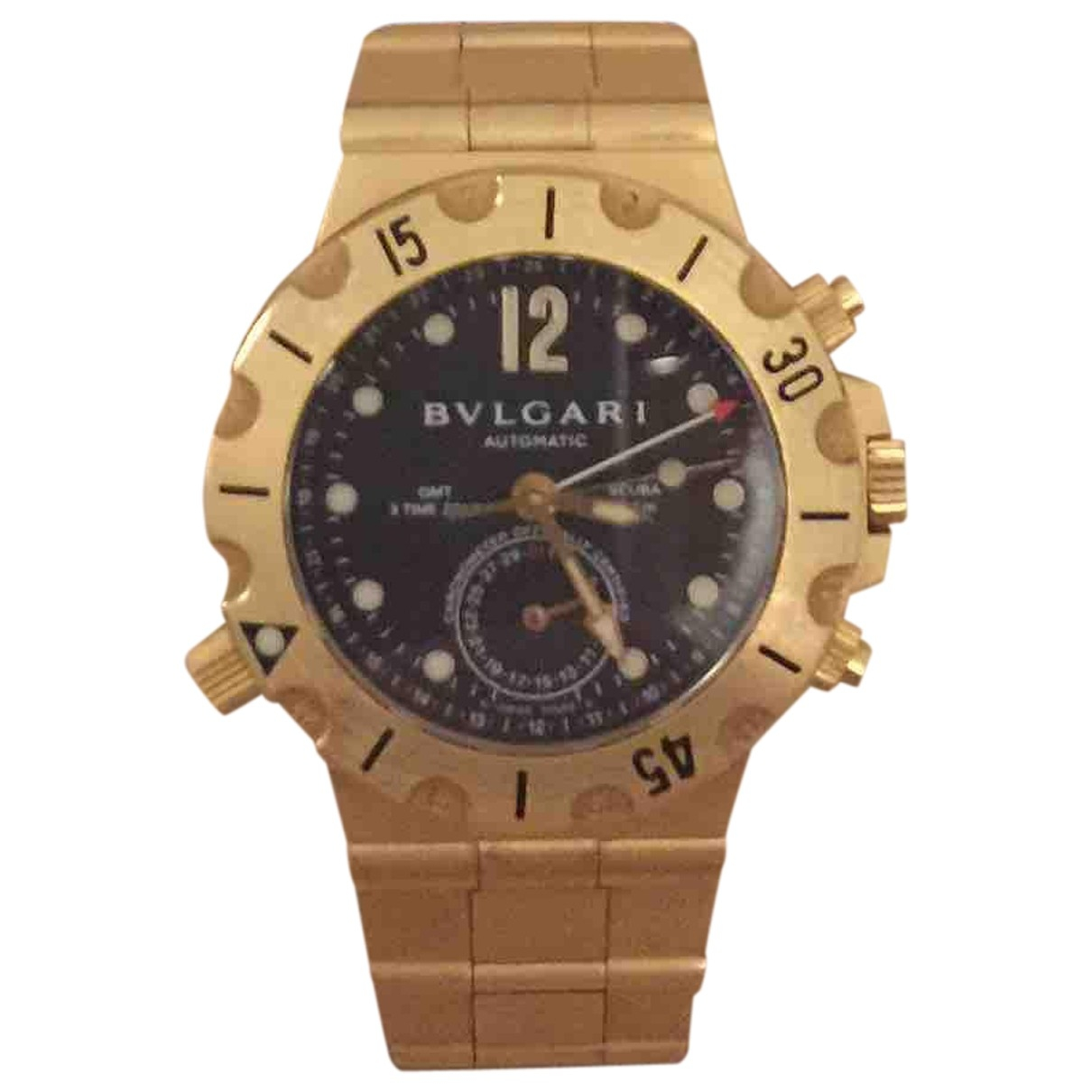 Relojes Diagono de Oro amarillo Bvlgari