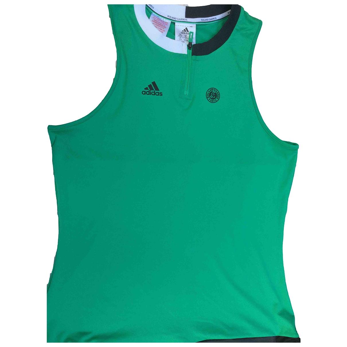 Adidas - Top   pour enfant - vert