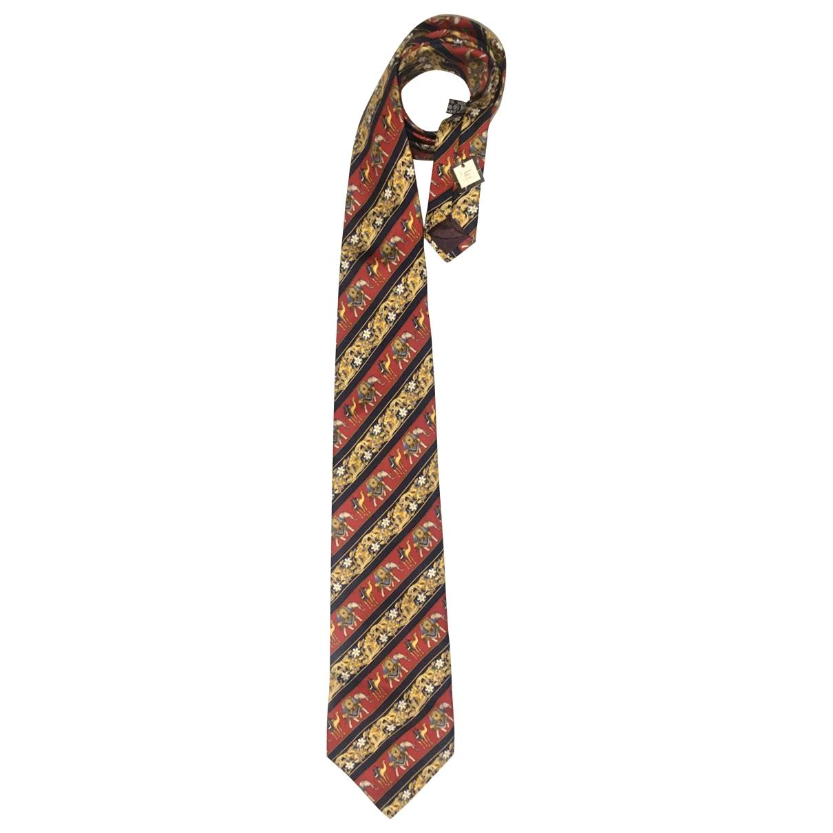 Christian Dior \N Krawatten in  Bunt Seide
